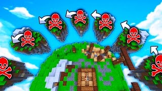 SPAWN KILL Challenge! (Minecraft SkyWars Challenge)