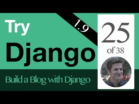Try Django 1.9  - 25 of 38 - Setup Static Files  - CSS  & Javascript  & Images in Django