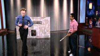 Conan O'Brien Stunt Highlights with Steven Ho