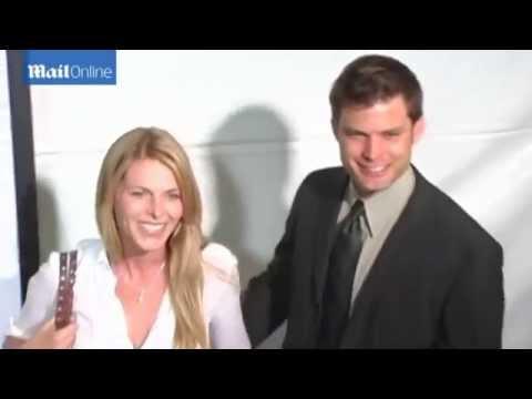 Casper Van Dien & wife loved up in 2005