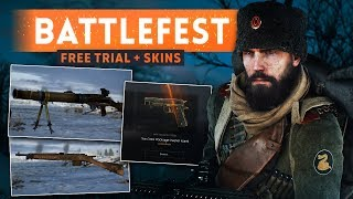 ► RUSSIAN DLC FREE TRIAL + NEW WEAPON SKINS! - Battlefield 1 In the Name of the Tsar (Battlefest)
