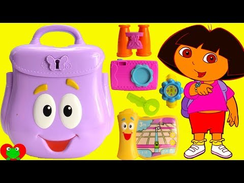 Dora The Explorer and Diego Backpack Rescue Surprises
