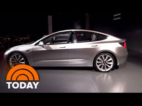 Elon Musk's Big Gamble: Tesla Set To Roll Out New $35,000 Electric Car | TODAY