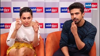 When Taapsee Pannu and Saqib Saleem got frustrated