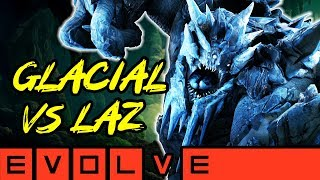Baixar GLACIAL BEHEMOTH VS LAZ!! Evolve Gameplay Stage Two (NEW EVOLVE 2019 Monster Gameplay)