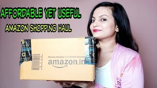AFFORDABLE Makeup & Skin Care AMAZON HAUL | My Honest Review On Amazon Shopping | AlwaysPrettyUseful
