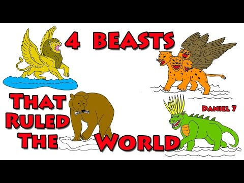 008 Four Beasts That Ruled The World   Daniel 7