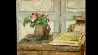 The Art of Édouard Vuillard - Claude Debussy Arabesque No. 1 - Franz Schubert Impromptu No. 3