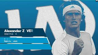 2018 HD Sascha Zverev in galaxy of rising stars - Australian Open before