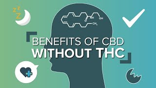 Benefits of CBD without THC