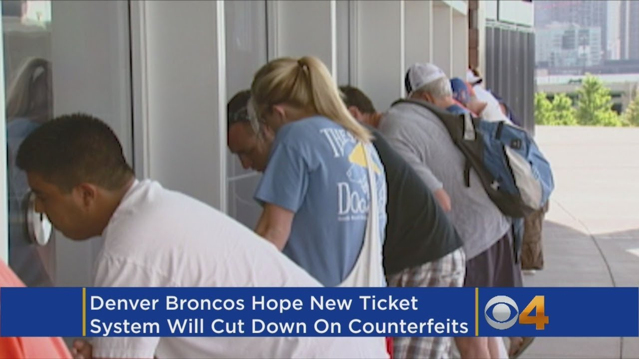 Broncos Transition To Mobile Ticketing System