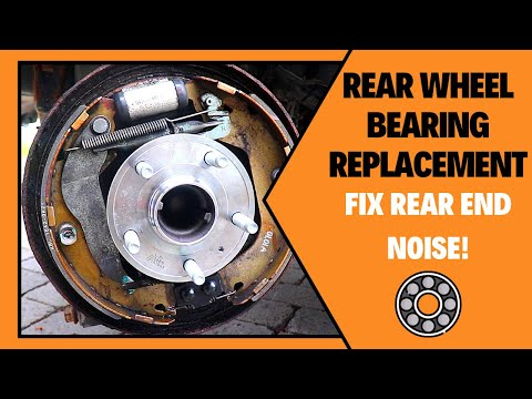 How To Change Rear Wheel Bearing Chevrolet Cruze