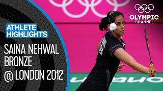 Saina Nehwal 🇮🇳  - India's first ever Olympic Badminton medallist! | Athlete Highlights