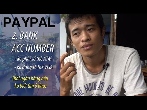 RÚT TIỀN PAYPAL CẦN BIẾT : VISACARD - BANK ACC - WITHDRAW