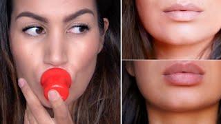 Zo krijg je snel volle lippen (shotglas, dopje, vacuümpomp)