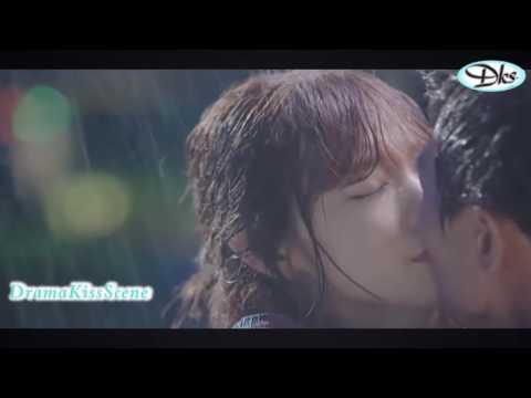 корейское кино Корейский поцелуй сцены Ким Rae 2016 выиграл поцелуй сборник