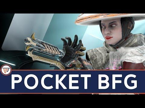 Warframe: The Pocket BFG -Best AMP Combination?