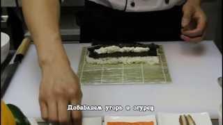 """Ролл """"Филадельфия"""" (Ресторан японской кухни """"Суши Дом"""")"""