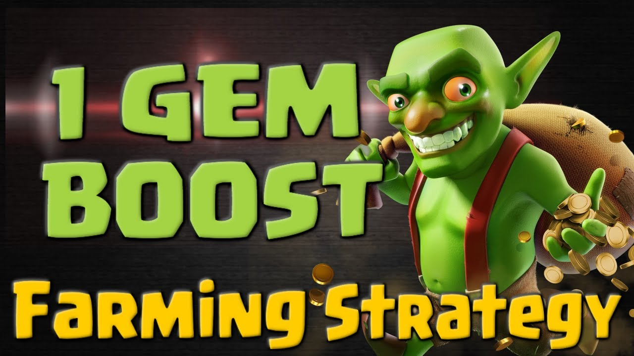 Dark elixir drill boost - Clash Of Clans 1 Gem Boost Farming Strategy Tips For Every Town Hall Level