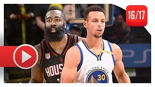 James Harden vs Stephen Curry EPIC PG Duel Highlights (2016.12.01) Warriors vs Rockets - MUST SEE!
