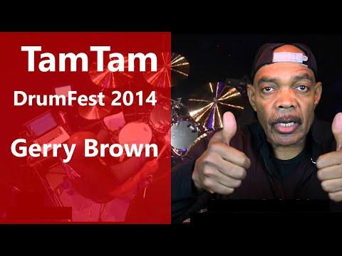 Gerry Brown TamTam DrumFest Sevilla 2014 - Yamaha Drums & Paiste Cymbals
