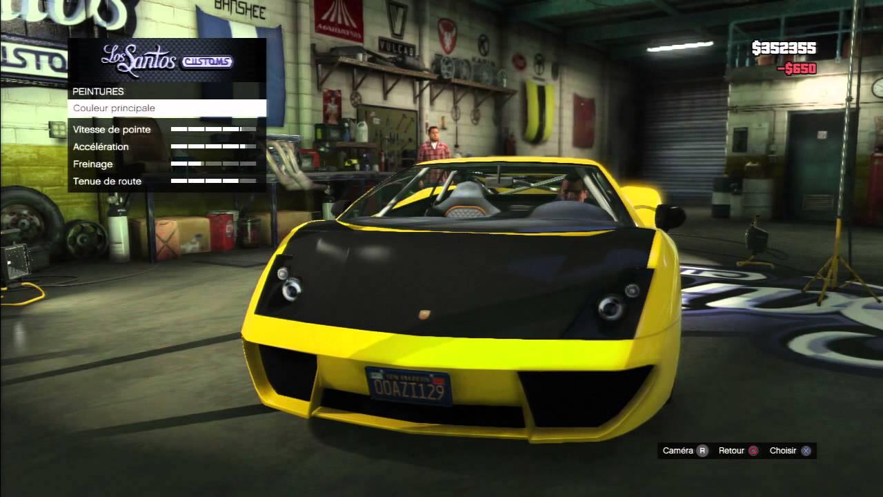 Gta 5 tuning garage youtube for Garage tuning marseille