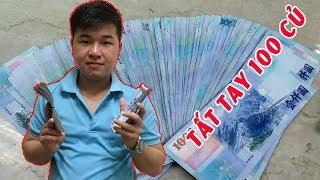 Gửi tiền về giúp đỡ gia đình sau những ngày lang thang nhặt rác ở Đài Loan
