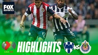 Rayados 1-1 Chivas | HIGHLIGHTS | Jornada 14 | Liga MX