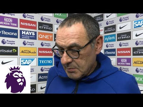 Maurizio Sarri discusses Chelsea's historic loss | Premier League | NBC Sports
