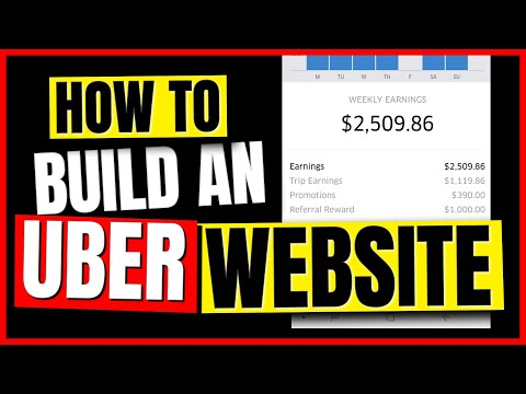 How To Make An Uber Website For More Referral Money