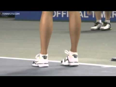 Tokyo 2011 Quarter Final Highlights_Maria Sharapova Vs. Petra Kvitova