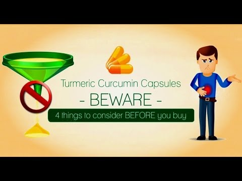 Turmeric Curcumin BEWARE:4 things to consider before buying