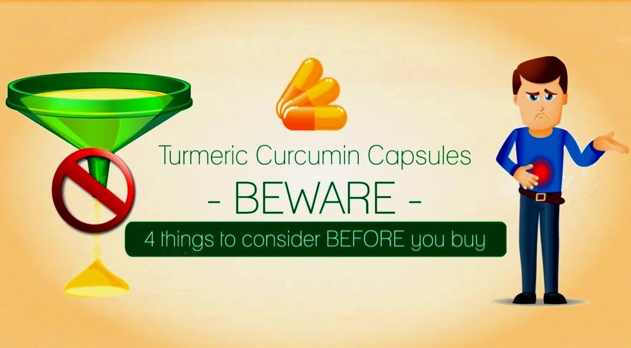 Turmeric Curcumin BEWARE:4 things to consider before buying - YouTube