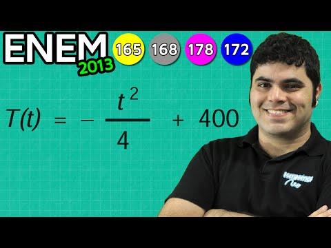 ENEM 2013 Matemática #37 - Temperatura...
