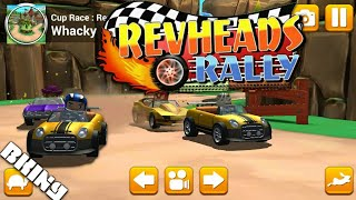 It's hard! It's Rev Heads Rally Gameplay by BKing (Rally Racing game by Spunge Games)
