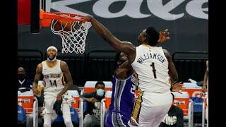 Zion Williamson's Unreal Plays vs. Sacramento Kings