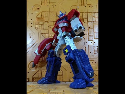 Review Transformers JuJiang JJ01 Supreme Leader KO Oversized Classics Optimus Prime Javitron Español