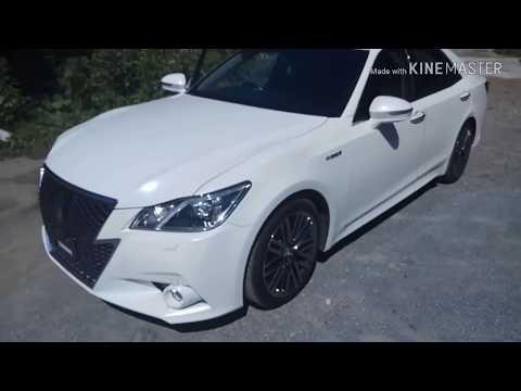 Обзор!!! Король JDM!!! Toyota Crown Athlete G Hybrid 2013 год
