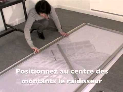 portes de placard coulissantes youtube. Black Bedroom Furniture Sets. Home Design Ideas