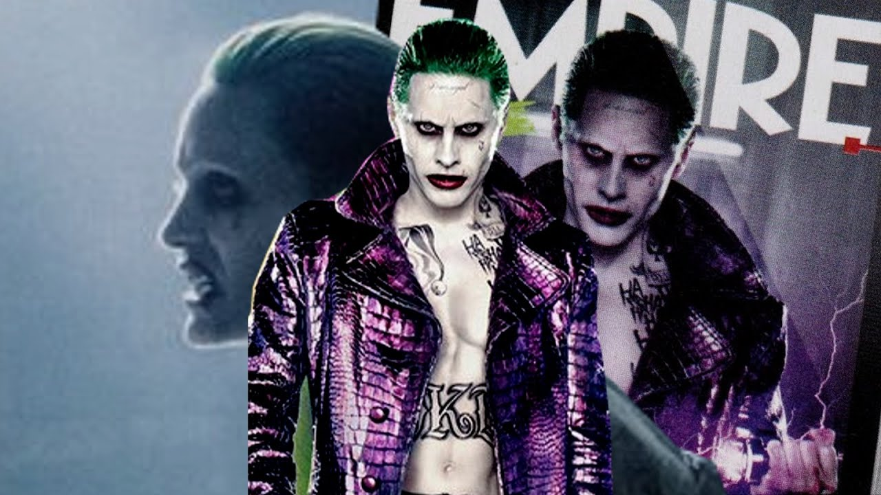 First Look At Jared Leto S Joker Empire Magazine Issue Cover
