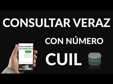 """Consultar """"Veraz"""" solo con tu Número de """"CUIL"""""""