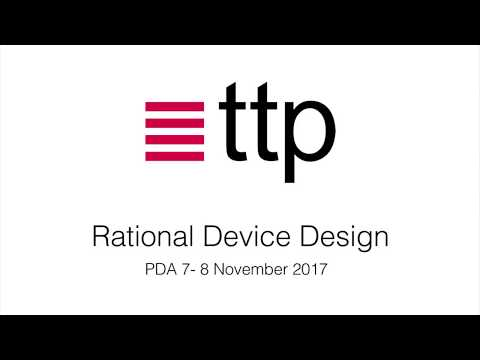Rational Device Design: TTP @ PDA 2017