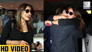 bipasha basus best reaction on seeing karan singh grover at the airport lehrentv