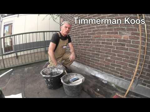 Voorkeur Timmertip 464 Onderhoud aan lood in muren aangebracht - YouTube WP47