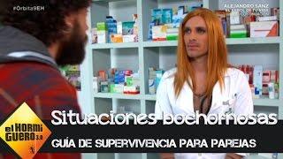 Cómo comprar una caja de preservativos en la farmacia sin pasar vergüenza - El Hormiguero 3.0