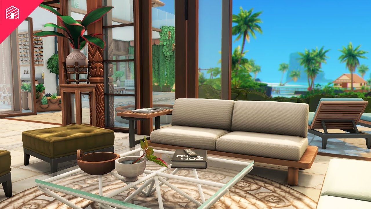 Download Villa Lombok   The Sims 4: Speed Build