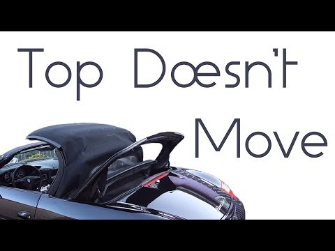 Porsche Convertible top fix