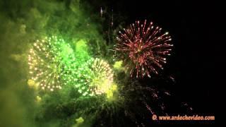 Ardèche - Feux d'artifice de Joyeuse