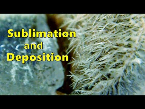 Sublimation And Deposition (Chemistry Demonstration)