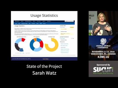 JWC 2016 State of the Project - Sarah Watz